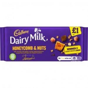 Cadburys Honeycomb & Nuts