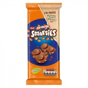 Smarties Chocolate Blocks