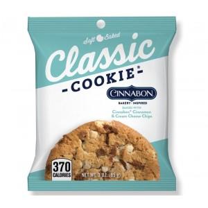 Cinnabon with Cinnamon Cream Cheese Chips Cookie