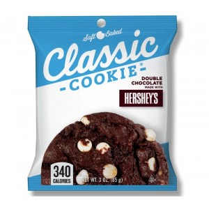 Double Chocolate Chip with Hersheys Cookie