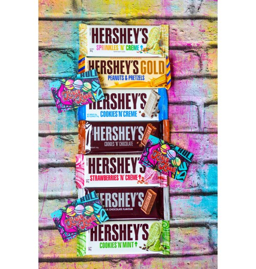 Hersheys Bars Multi Flavour
