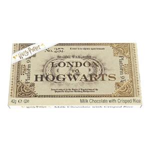 Harry Potter Platform 9 3/4 Milk Chocolate Train Ticket