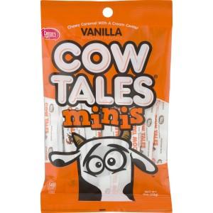 Caramel Mini Cow Tales Peg Bag 113 Gram