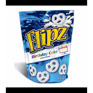 Flipz Birthday Cake Stand Up Pouch