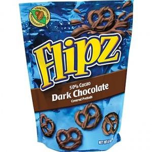 Flipz Dark Chocolate Stand Up Pouch