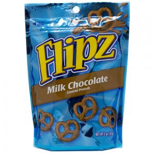 Flipz Milk Chocolate Stand Up Pouch