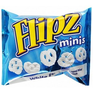 Flipz White Grab & Go