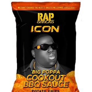 Rap Snacks Big Poppa Cookout BBQ Notorious BIG 78 Gram