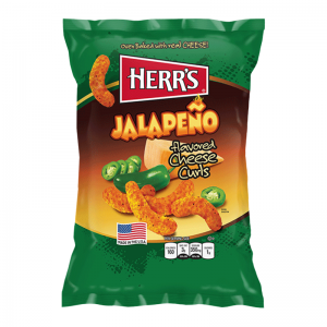 Herr's Jalapeno Cheesy Curls 29 Gram