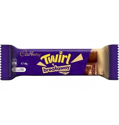 Cadburys Twirl Breakaway Wafer 40g