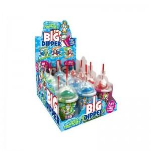 Crazy Candy Factory Big Dipper Lollipop & Sherbert Tubs