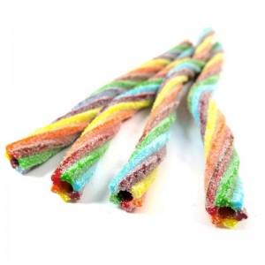 Crazy Candy Factory Sour Cable Shocks Fruit Flavour