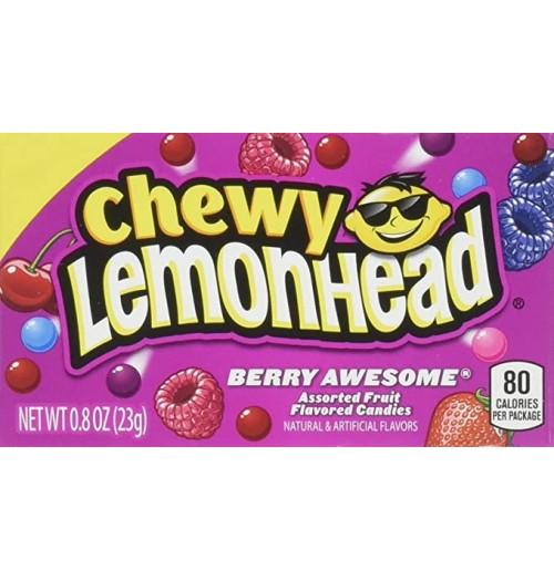 Lemonhead Chewy Box 28g