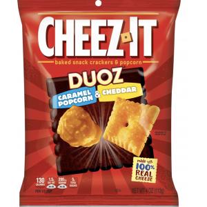 Cheez-It Caramel Popcorn & Cheddar