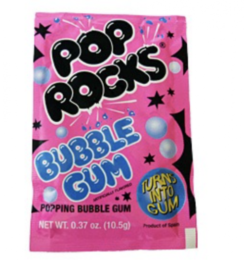 Pop Rocks Bubblegum