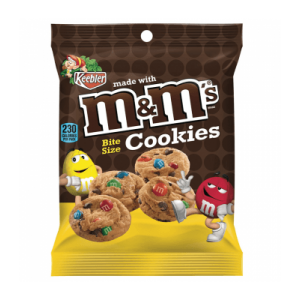 Keebler Bite Size Cookies with M & M's