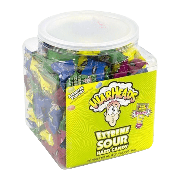 Warheads Extreme Sour Wrapped Candy
