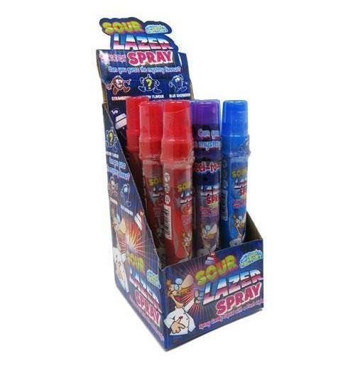Crazy Candy Factory Sour Lazer Spray