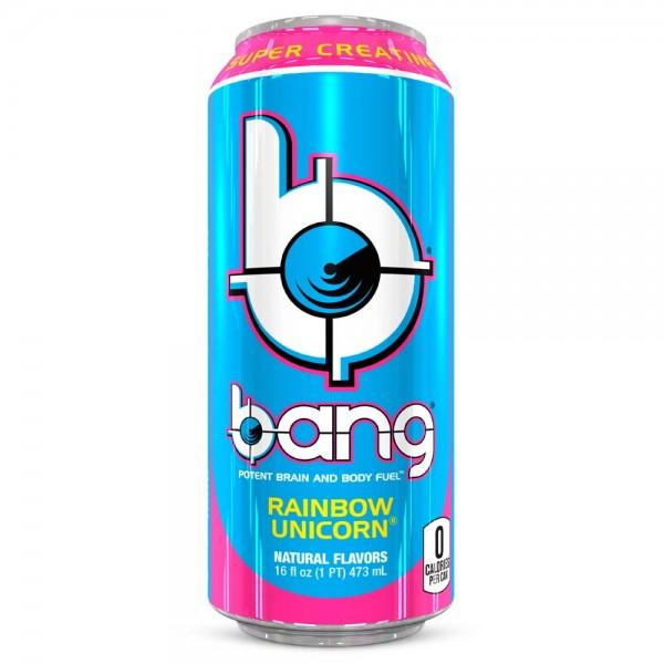 Bang Energy Drink Rainbow Unicorn