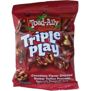 Toad Ally Triple Play Pretzels