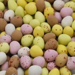Glisten Chocolate Mini Eggs       (VT, GF)