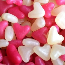 Barratt Pink and White Jelly Hearts (GF)