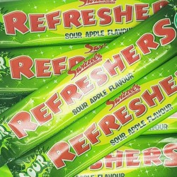 Swizzels Refresher Sour Apple Chew Bars          (VT, VG, GF)