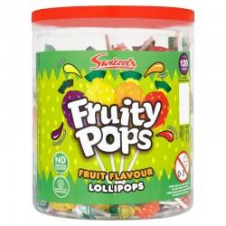 Swizzels Fruity Pops Lollies          (VT, VG, GF)