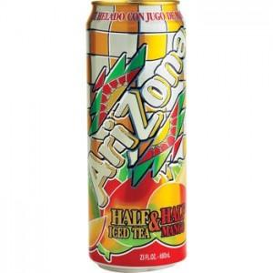 Arizona Half & Half Ice Tea Mango Can